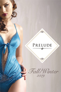 Prelude Fashion Lingerie Fall-Winter 2009 catalog cover